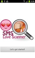 Screenshot of SMS Love Scanner