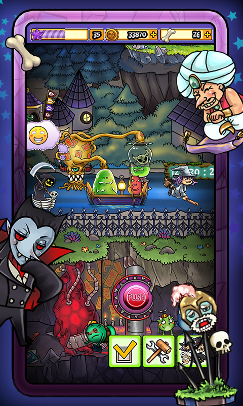Monsters Village Transylvania- screenshot