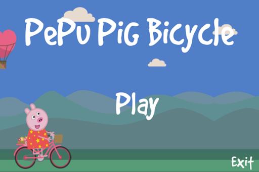 Pepu Pig Bicicleta