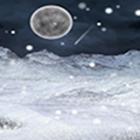 Snowing Winter Night icon