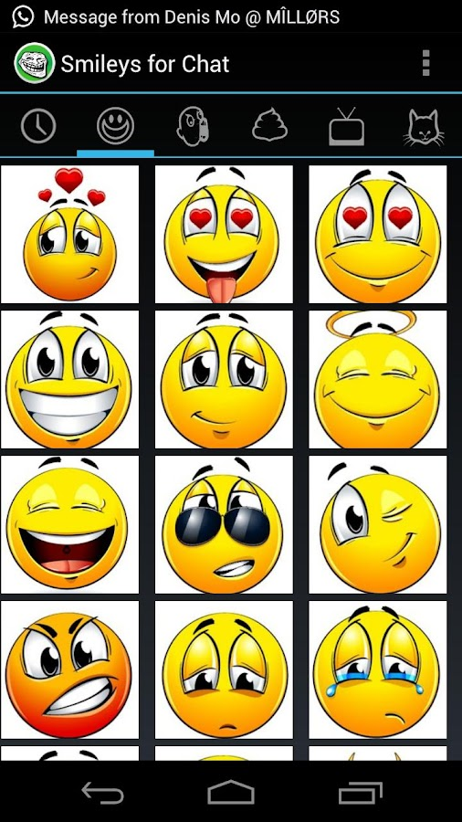 Smileys for Chat (memes,emoji) - screenshot