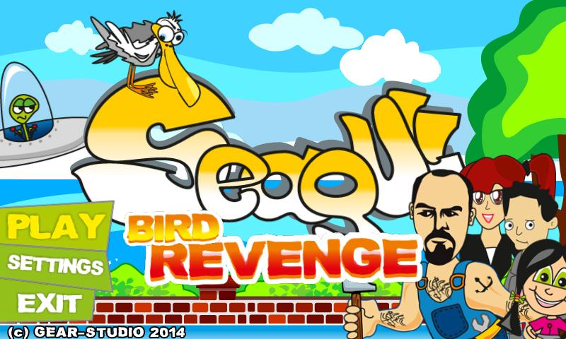 Seagull Bird Revenge- screenshot