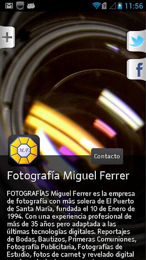 Fotografías Miguel Ferrer