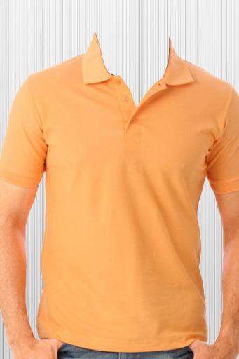 Man in T-Shirt Photo Suit
