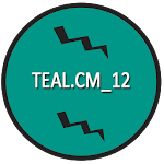 CM12/RR/LS Teal Cm theme v10.0