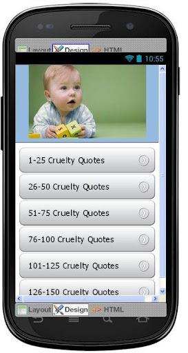 Best Cruelty Quotes