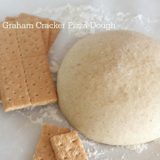Graham Cracker Pizza Dough Recipe | Dessert Pizza