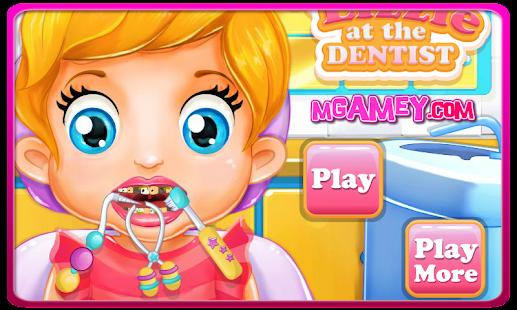 Baby Lizzie Dentist Games
