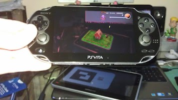Screenshot of Vita AR Cards