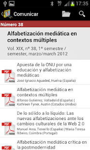 Comunicar Journal- screenshot thumbnail