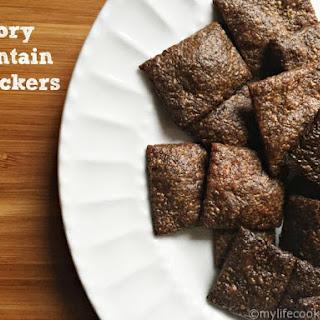 Savory Plantain Crackers