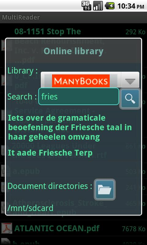 MultiReader- screenshot