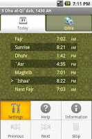 Screenshot of Islam Adhan Alarm
