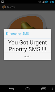TeXTe - Emergency SMS Screenshot