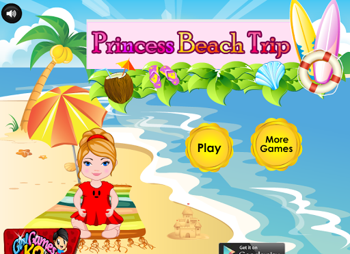 Princess Beach Trip