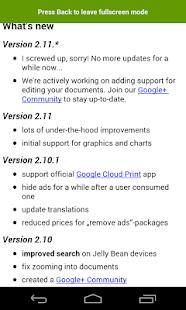 OpenDocument Reader Screenshot 3