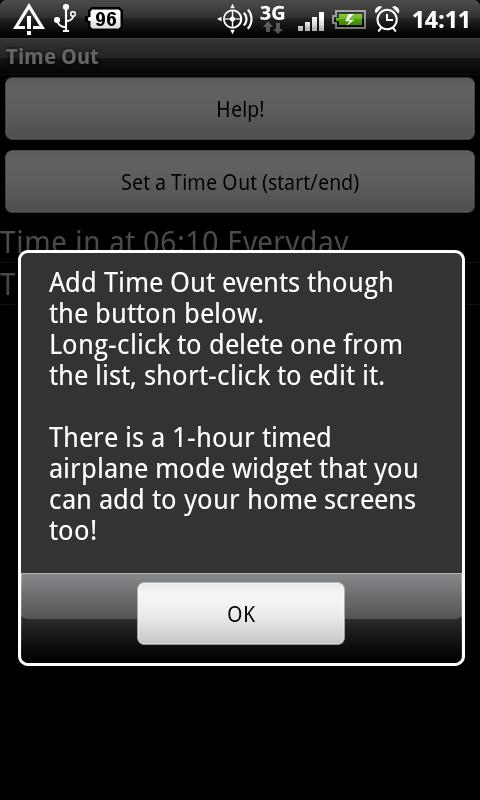 Time Out- screenshot