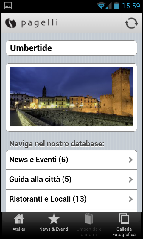 Pagelli Sposi, Umbertide- screenshot