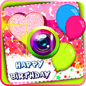 Birthday Photo Stickers icon