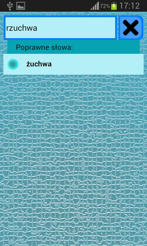 Słownik Ortograficzny polski - screenshot