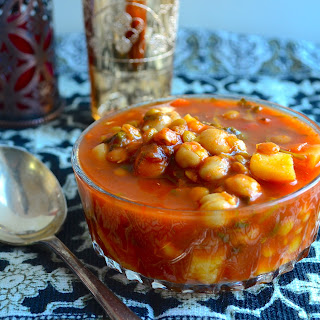 """Meatless Monday - Moroccan Style Vegetable Soup (""""Harira"""")."""