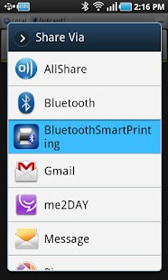 Bluetooth Smart  Printing - screenshot thumbnail