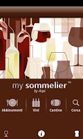 Screenshot of My Sommelier