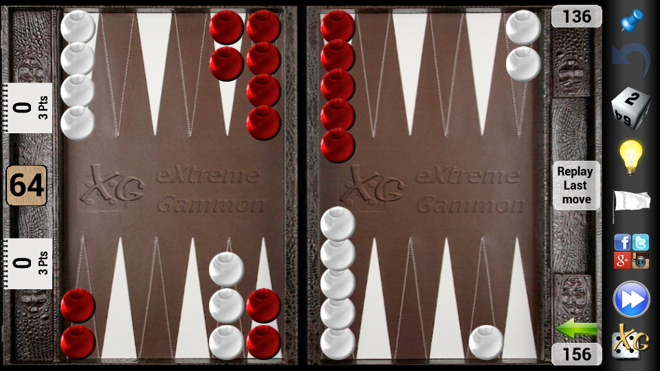 XG Mobile Backgammon- screenshot