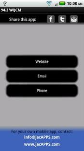 94.3 WQCM The Rock Station - screenshot thumbnail