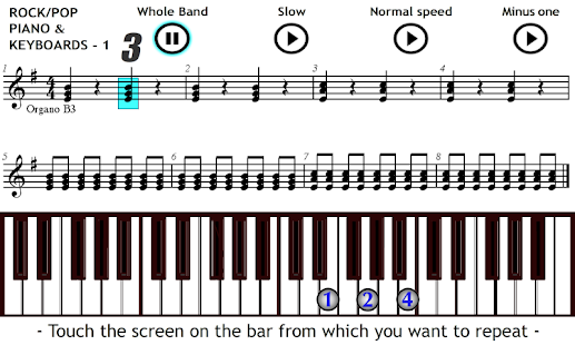 Play Piano & Keyboards Rock 1 - screenshot thumbnail