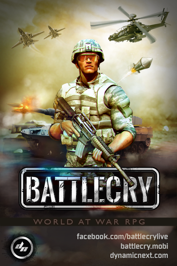 BATTLE CRY (War RPG) - FREE - screenshot