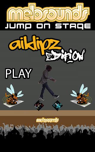 Jump on stage - Airklipz