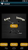 Screenshot of Hide My Calls/Text- Baseball