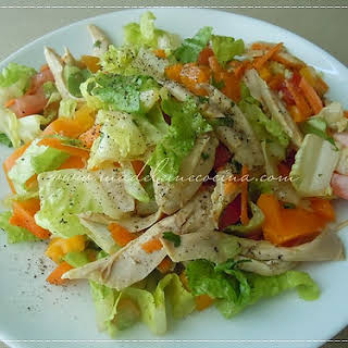 Chopped Salad with Chicken.