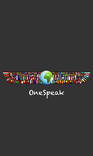 OneSpeak