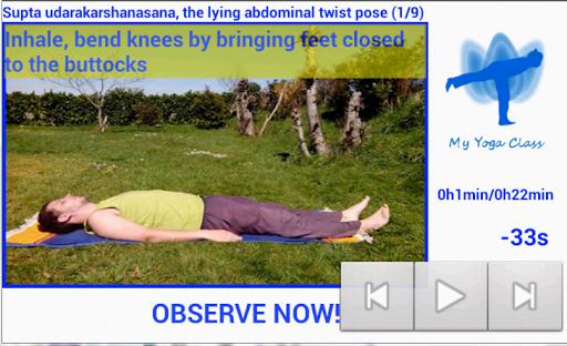My Yoga class