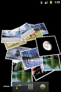 Falling Images Live Wallpaper- screenshot thumbnail