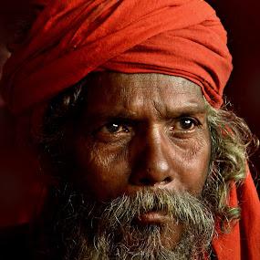 Bravery of knowledge by Arnab Bhattacharyya - People Portraits of Men