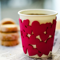 LovelyHeart PaperCup Holder