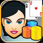 Mugalon Poker 3D HD Estrategia icon