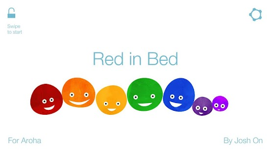 Red in Bed: kids book - screenshot thumbnail