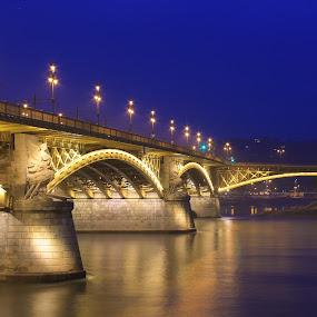 Margaret Bridge by Tracey Dolan - Buildings & Architecture Bridges & Suspended Structures (  )