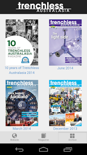 Trenchless Australasia- screenshot thumbnail