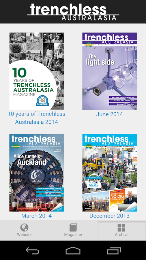 Trenchless Australasia- screenshot