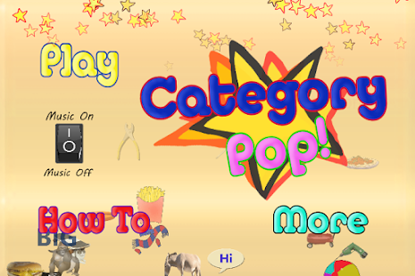 Category Pop!- screenshot thumbnail