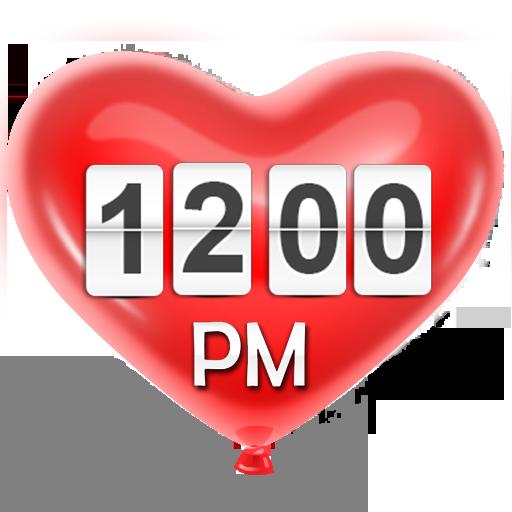 红心 – 时钟小部件 個人化 App LOGO-硬是要APP