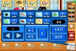 Screenshot of Sushi Dash Lite