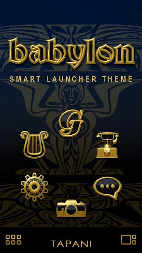 Smart Launcher theme Babylon