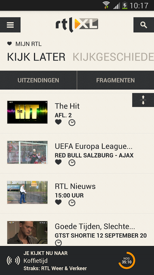 RTL XL - screenshot