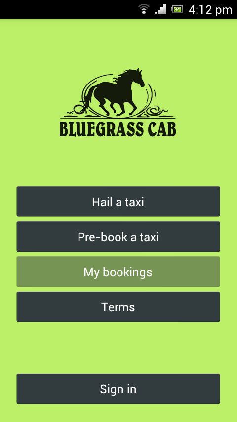 Bluegrass Cab- screenshot
